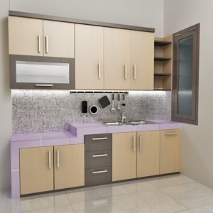 Kitchenseat Warna Cream Elegan